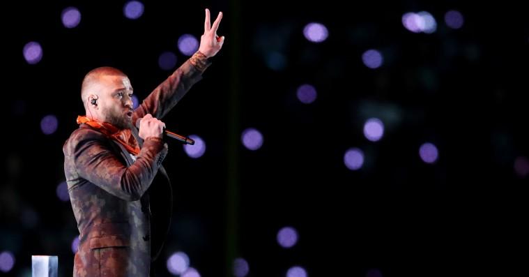 Se Justin Timberlakes storladne Super Bowl-optræden – inkl. virtuel Prince-duet