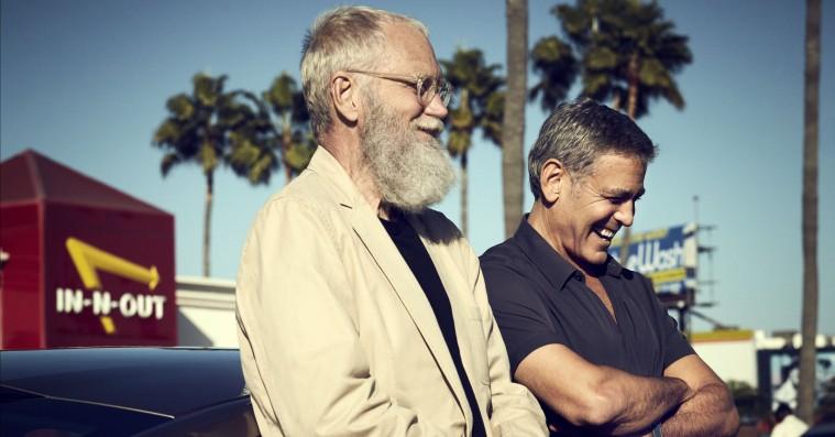 Clooney og Letterman er bedst uden pomfritsauce i mundvigen