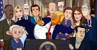 'Our Cartoon President': Stephen Colbert gør Donald Trump alt for harmløs i ny animationsserie