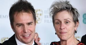'Three Billboards Outside Ebbing, Missouri' vinder hovedprisen ved BAFTA-uddelingen - hvilket ikke nødvendigvis er et godt Oscar-tegn