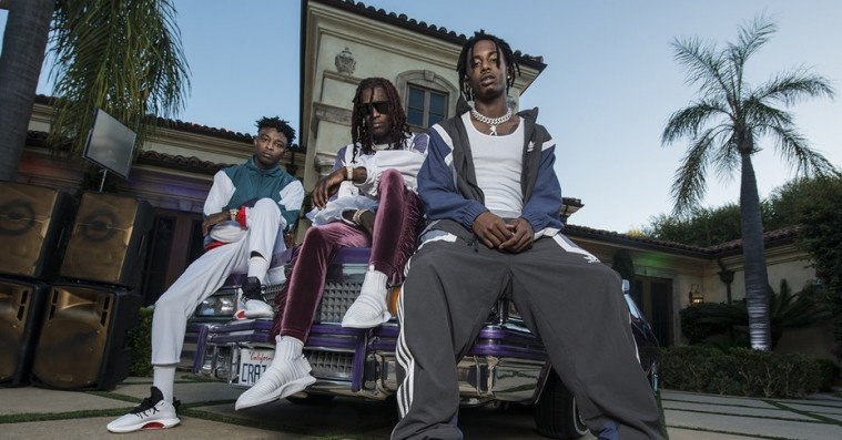 21 Savage, Playboi Carti og Young Thug rykker ud for Adidas – med en diamantbelagt basketball