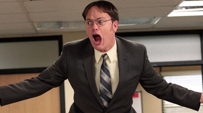 10. Hvad sælger virksomheden Dunder Mifflin i 'The Office (US)'?