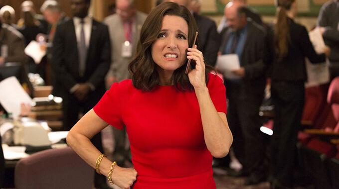 13. Hvilken begivenhed fører til, at Selina Meyer i 'Veep' endelig får lov at overtage præsidentembedet?