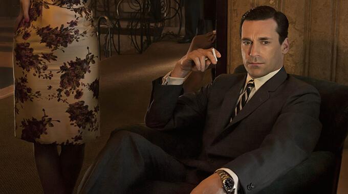 4. Under en præsentation fortæller Don Draper i 'Mad Men' skandaløst om sin opvækst i et bordel – hvilken kunde er han i gang med at præsentere for?