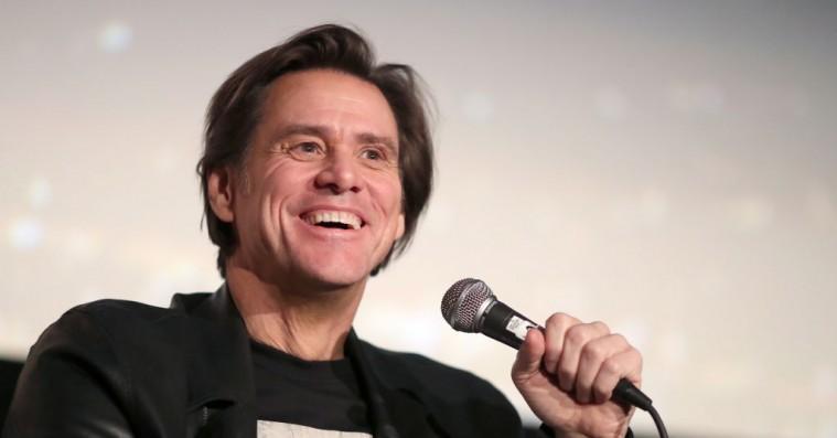 Jim Carrey pisser på Donald Trumps grav med nyt maleri