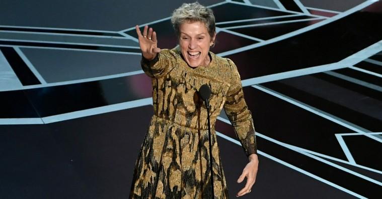 Frances McDormands Oscar-statuette blev stjålet under efterfesten