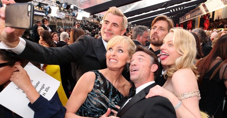 Se stjernernes bedste Oscar-snapshots: Fra Greta Gerwig til Claes Bang på slap line
