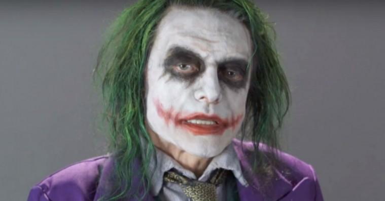 »Let's put a spejl on that face«: Se Tommy Wiseaus rædselsvækkende audition som Jokeren