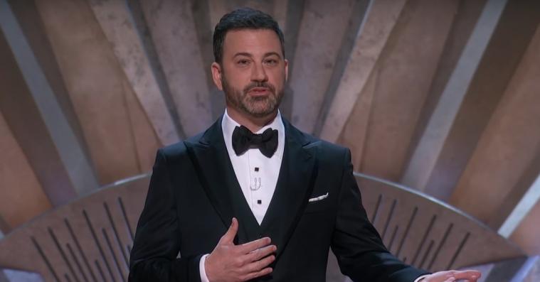 Jimmy Kimmels Oscar-åbning havde MeToo, sidste års fuckup og en vandscooter i centrum