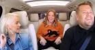 Carpool Karaoke: Christina Aguilera giver vokallektioner til Melissa McCarthy og James Corden
