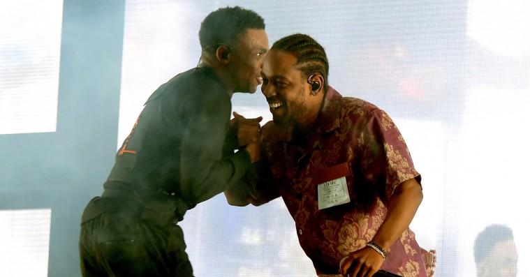 Kendrick Lamar crasher Vince Staples' Coachella-koncert – se video
