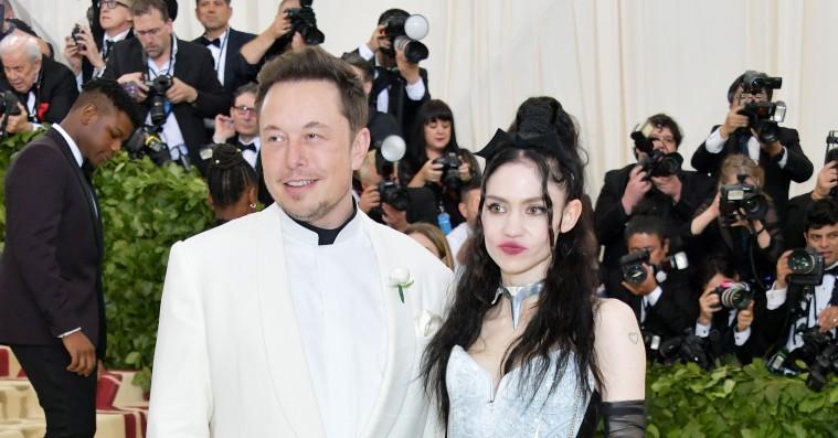 Grimes og Elon Musk dater