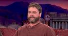 Zach Galifianakis blev overrasket med sin egen død, fortæller han hos Conan O'Brien