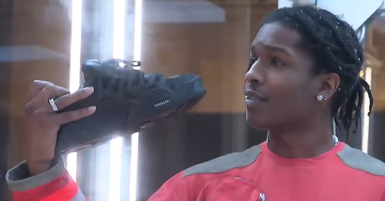 ASAP Rocky afslører sin første Under Armour-sneaker: »Det er noget jiggy shit«