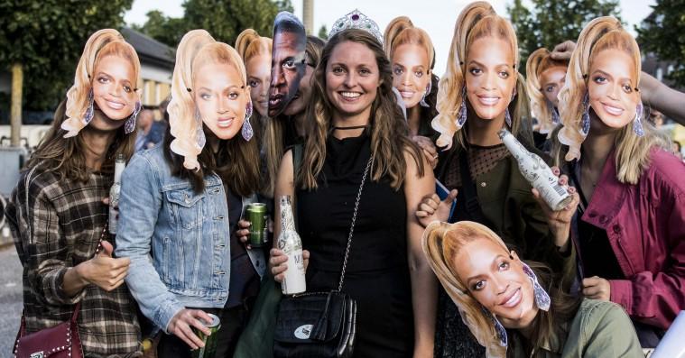 Street style: Beyoncé og Jay-Z i Parken