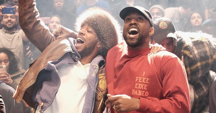 Engle og dæmoner synger om kap på Kanye West og Kid Cudis terapeutiske 'Kids See Ghosts'