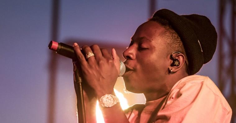 Joey Bada$$' show på Roskilde Festival var et katastrofalt rod