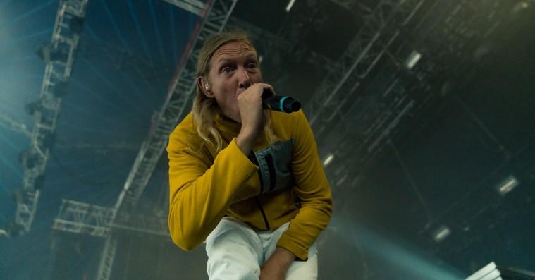 When Saints Go Machine spillede Mickey Mouse-techno i slowmotion på Roskilde Festival