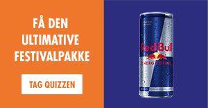 Vind en festivalpakke: Swipe dig gennem denne test – og få chancen for at vinde festivalarmbånd og Red Bull