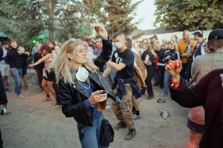 Roskildefestivalen 2002 en massa for mer an musik