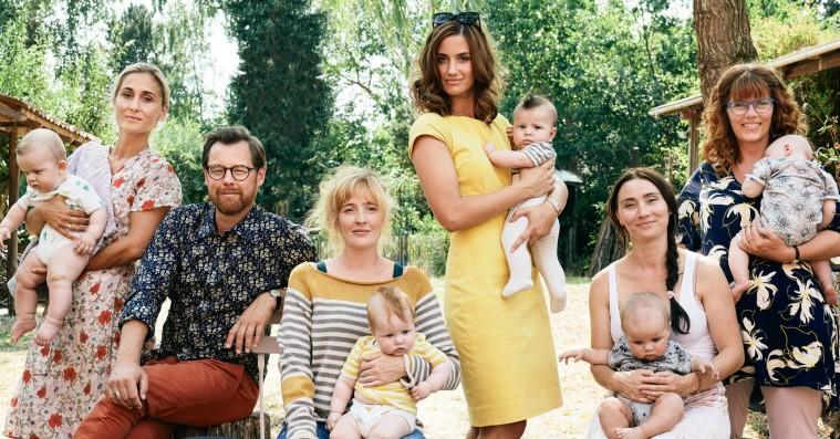 'Mødregruppen': Danica Curcic lyser op i tam folkekomedie om babymos og kolde kællinger