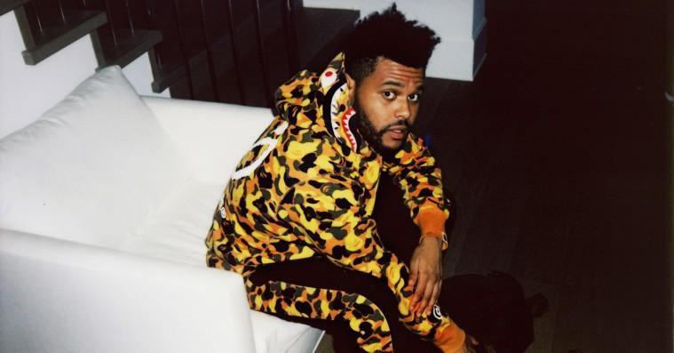 The Weeknd viser hele sit samarbejde med A Bathing Ape – lander på lørdag