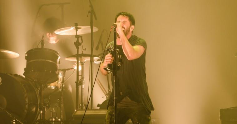 Nine Inch Nails tændte blot ét lys til dystopisk natmesse