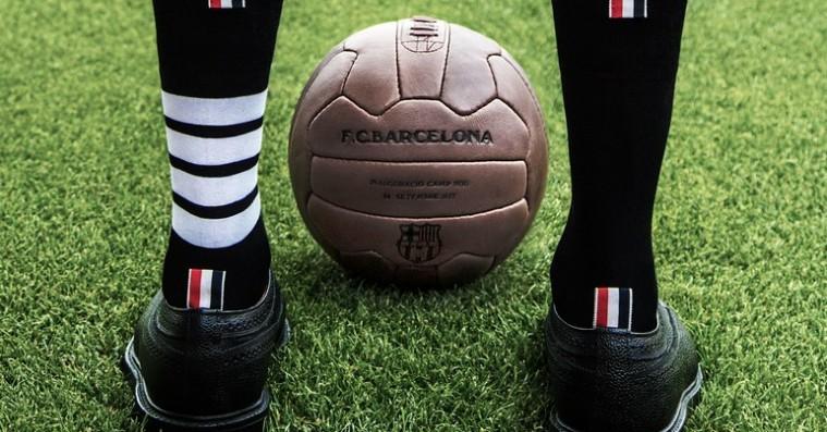 Thom Browne skal klæde FC Barcelonas fodboldstjerner på - inspireret af LeBron James