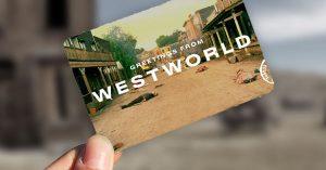 »Howdy y'all!« Der er kommet postkort fra Westworld – og alle dine andre favoritserier