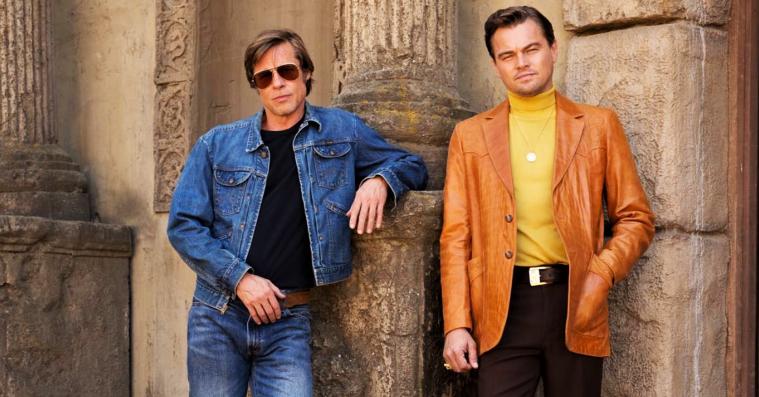Brad Pitt og Leonardo DiCaprio ufrivilligt photoshoppet på Tarantino-billede