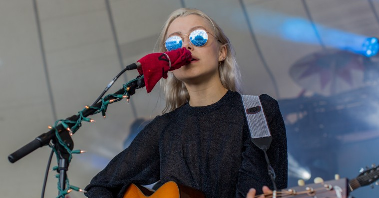 Phoebe Bridgers' følsomhed forsvandt i lydproblemer på Haven