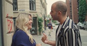 Sandie Westh og Abdel Aziz Mahmoud tager på Ragnarock og til 1:1-teater – se videoen her