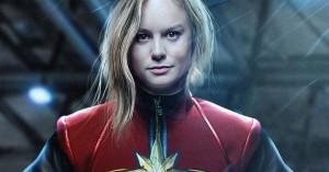Brie Larson kritiseret for ikke at smile nok i 'Captain Marvel'-trailer – svarer igen med photoshop