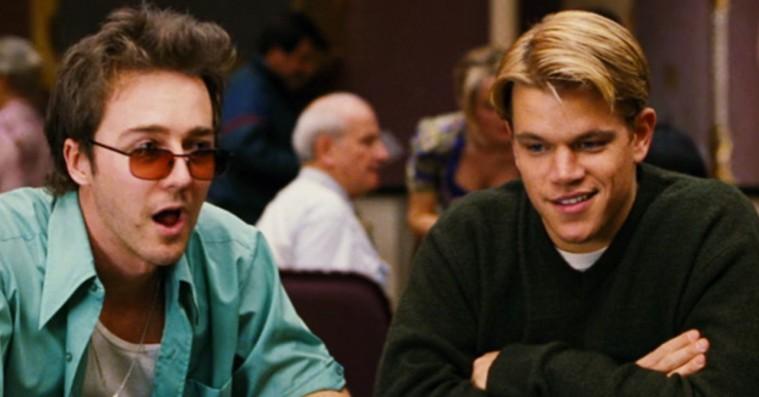 Edward Norton og Matt Damon snød brødrene Weinstein i pokerspil