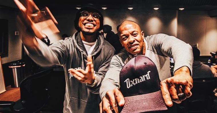 Anderson .Paak og Dr. Dre rapporterer fra studiet: »Album færdigt«