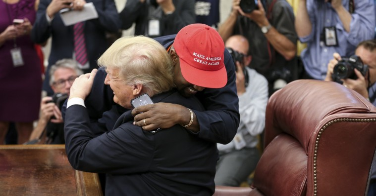 Donald Trump reagerer på Kanye Wests præsidentkampagne – og siger, at de stadig er venner