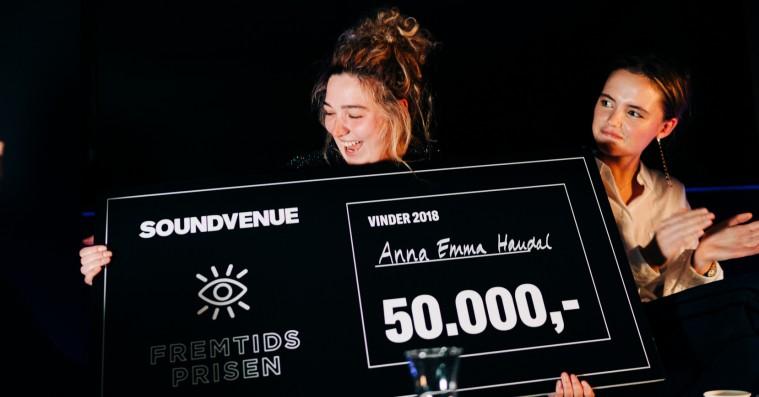 Soundvenue uddeler Fremtidsprisen 2018 til Anna Emma Haudal