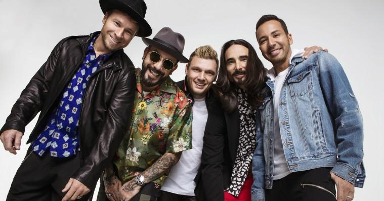 Backstreet Boys giver koncert i Danmark