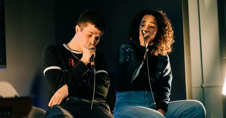 Fraads og Anya lavede ét track på én dag i INPUT-rummet: »Lad os prøve at kradse Soundvenue lidt i øjnene«