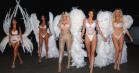 Kardashian/Jenner-søstrene leger Victoria's Secret-engle til Halloween – udstiller brandets tilbagevendende problem