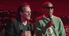 Bono og Pharrell synger Bee Gees-klassiker hos Jimmy Kimmel