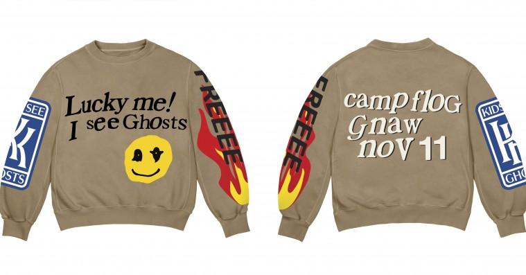 Kanye West og Kid Cudi slipper Kids See Ghosts-merchandise