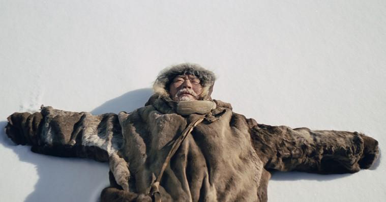 'Ága': Gudesmuk film i 42 graders frost
