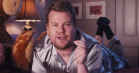 »Thank U, Jeff«: James Corden hylder Jeff Goldblum i Ariana Grande-parodi
