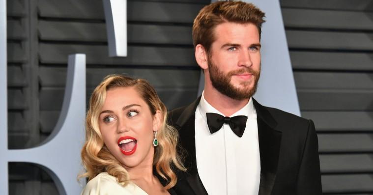 Miley Cyrus og Liam Hemsworth er blevet gift i smug