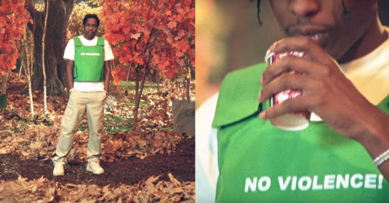 Er det okay at lave en skudsikkervest til et mode-statement? I hvert fald når Tyler, The Creator gør det