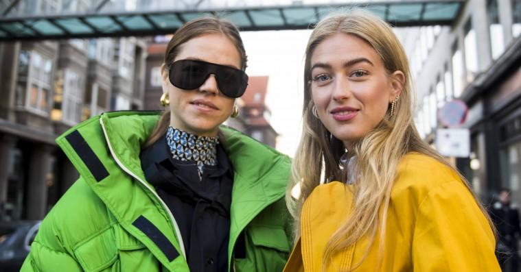 Street style: Signalfarverne satte deres præg på den første dag til Copenhagen Fashion Week