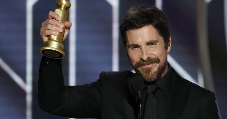 Christian Bale takker Satan i sin Golden Globe-vindertale
