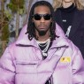 Offset hygger sig til modeugen i Paris – diamanter, euros og Off-White-catwalk