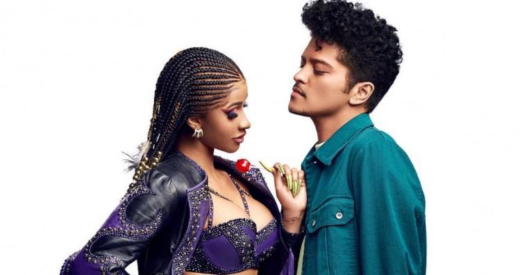 Cardi B og Bruno Mars deler ny lummer single: 'Please Me'